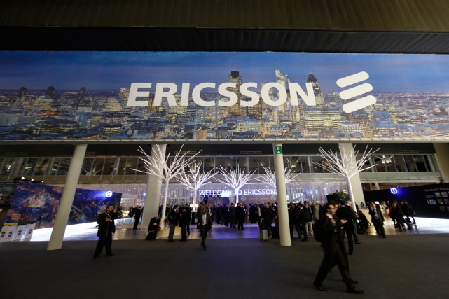 Le fabricant suédois d'équipements de télécommunications Ericsson a annoncé... (PHOTO SIMON DAWSON, ARCHIVES BLOOMBERG)
