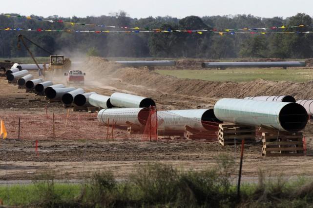 D'importants projets de pétrole et de gaz, proposés... (PHOTO ARCHIVES LA PRESSE CANADIENNE)