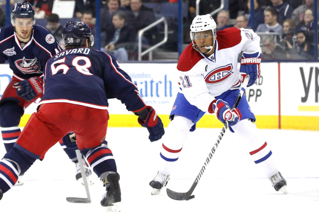 Acquis des Ducks mardi, Devante Smith-Pelly a fait... (Photo Aaron Doster, USA Today)