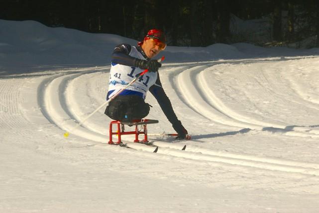 Yves Bourque a récolté sa deuxième médaille d'or... (Photo: Jeux du Canada)