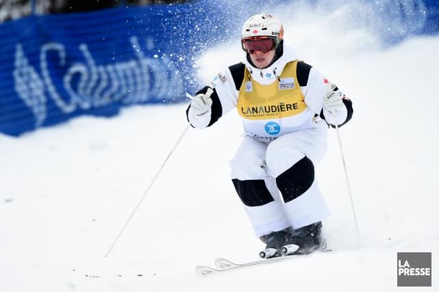 Mikaël Kingsbury n'a besoin que d'une troisième place... (Photo Bernard Brault, La Presse)