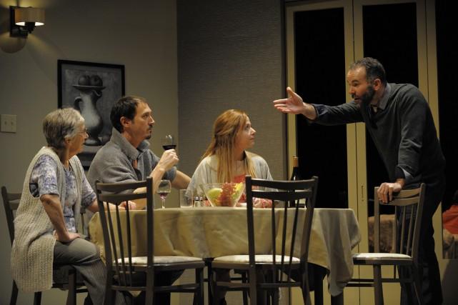 Ennemi public, jusqu'au 21 mars, au Théâtre d'Aujourd'hui.... (Photo Valérie Remise, fournie par le Théâtre d'Aujourd'hui)