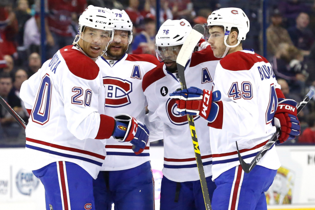 Avec 21 matchs à jouer, le Canadien totalise... (Photo Aaron Doster, USA Today)