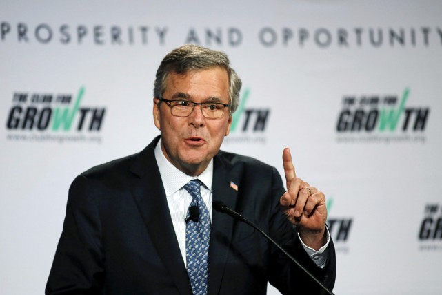 Jeb Bush, 62 ans, a désormais des rivaux... (PHOTO JOE SKIPPER, AP)