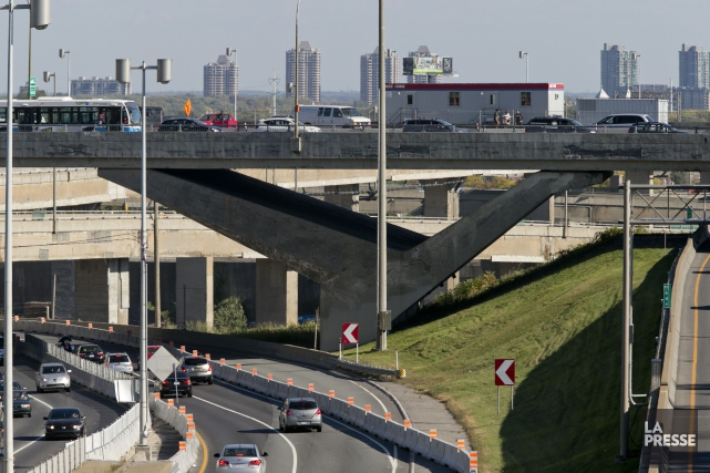 L'échangeur Turcot.... (Photo David Boily, Archives La Presse)