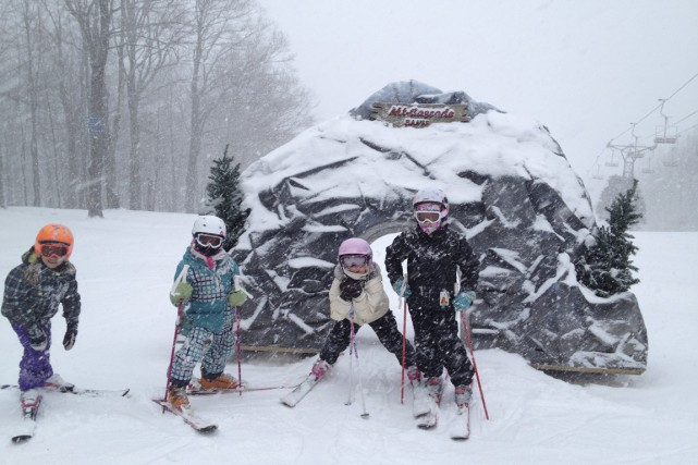Jusqu'au 8 mars, la station de ski Sutton... (Photo fournie par Ski Sutton)