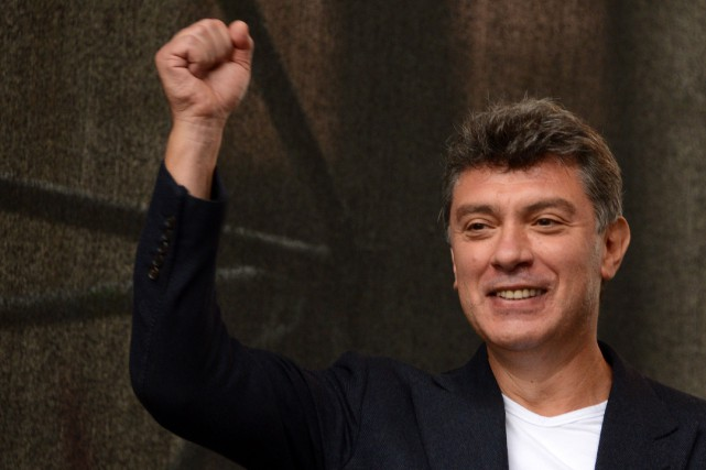 Boris Nemtsov a déjà été vice premier ministre... (PHOTO ARCHIVES AFP)