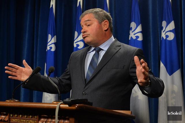 Yves Bolduc n'est pas victime de son départ.... (Photo Patrice Laroche, archives Le Soleil)