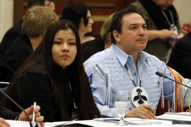 L'adolescenteRinelle Harperqui a été agressée en novembre et... (Photo Chris Wattie, Reuters)