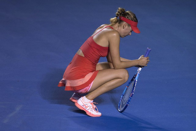 Maria Sharapova... (Photo Christian Palma, AP)