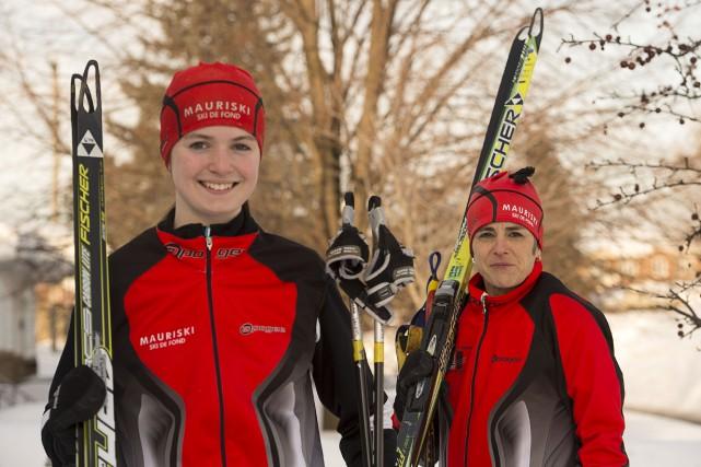 Passionnée par le ski de fond depuis déjà... (Photo: Stéphane Lessard)