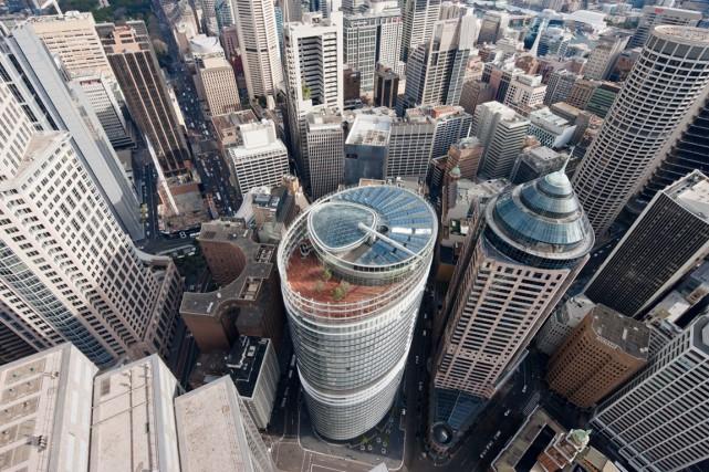 L'édifice n'est pas imposant par sa hauteur, mais... (ctbuh.org)
