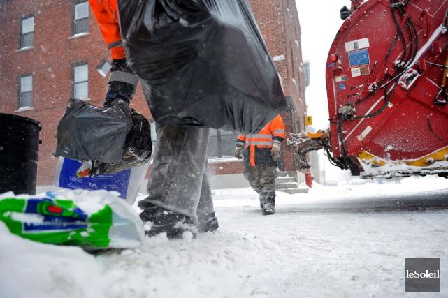 À partir d'avril, Québec cessera la collecte des... (Photothèque Le Soleil, Yan Doublet)