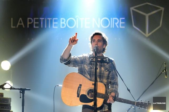 Sébastien Pomerleau, alias Auguste, fait partie des musiciens... (IMACOM, Maxime Picard)