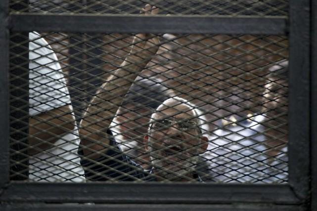 Mohamed Badiea déjà été condamné à mort dans... (PHOTO KHALED DESOUKI, AFP)