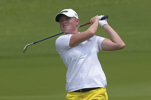 Stacy Lewis... (PHOTO PORNCHAI KITTIWONGSAKUL, AFP)