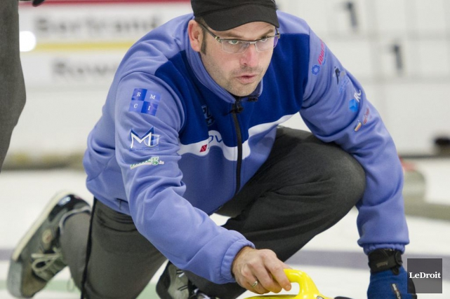 Le championnat national de curling débute samedi à... (Martin Roy, Archives LeDroit)