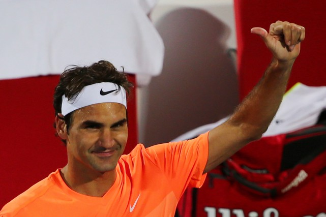 Roger Federer... (PHOTO MARWAN NAAMANI, AFP)