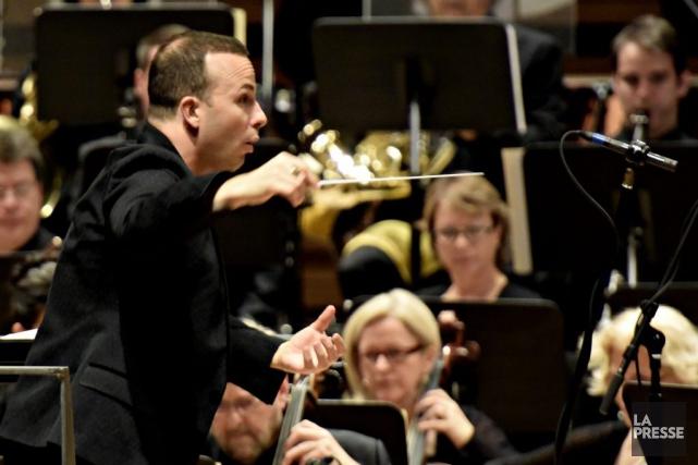Le chefde l'Orchestre Métropolitain, Yannick Nézet-Séguin.... (PHOTO BERNARD BRAULT, ARCHIVES LA PRESSE)