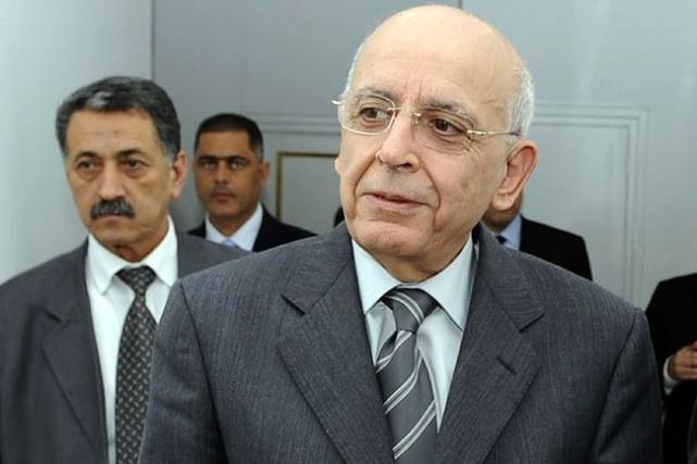 L'ex-premier ministre tunisien Mohamed Ghannouchi lors de sa... (Archives, Agence France-Presse)