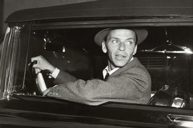 Frank Sinatra sur une photo non datée.... (Photo AP / Archives famille Sinatra)