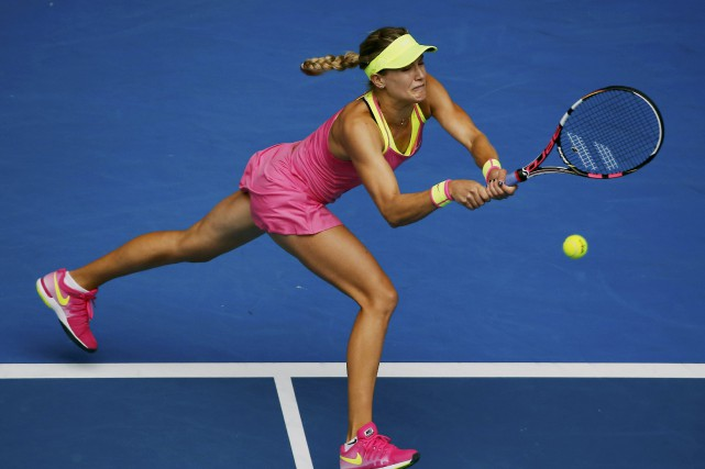 Eugenie Bouchard... (PHOTO CARLOS BARRIA, ARCHIVES REUTERS)
