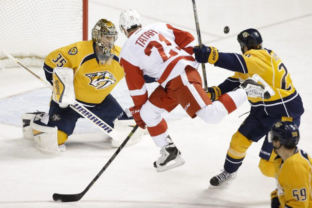 Tomas Tatar... (Photo Mark Humphrey, AP)