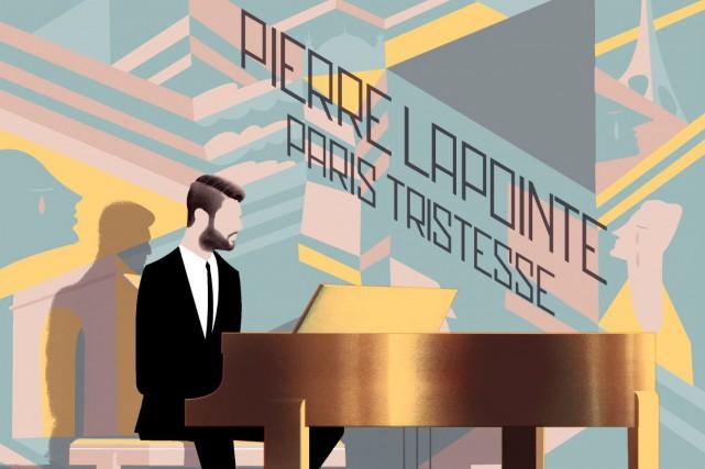 Pierre Lapointe se réinstalle au piano pour affirmer avec aplomb dans la voix...
