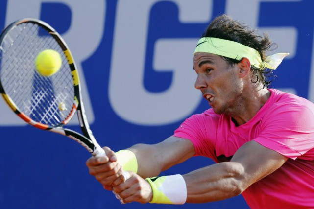 Rafael Nadal... (PHOTO MARCOS BRINDICCI, REUTERS)