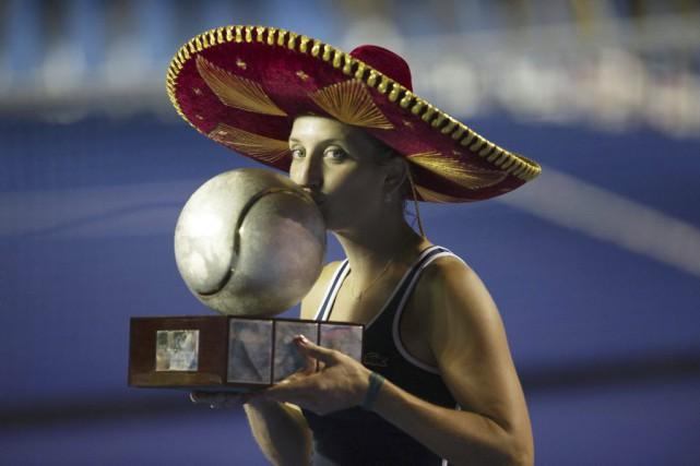 Timea Bacsinszky... (Photo Pedro PARDO, AFP)