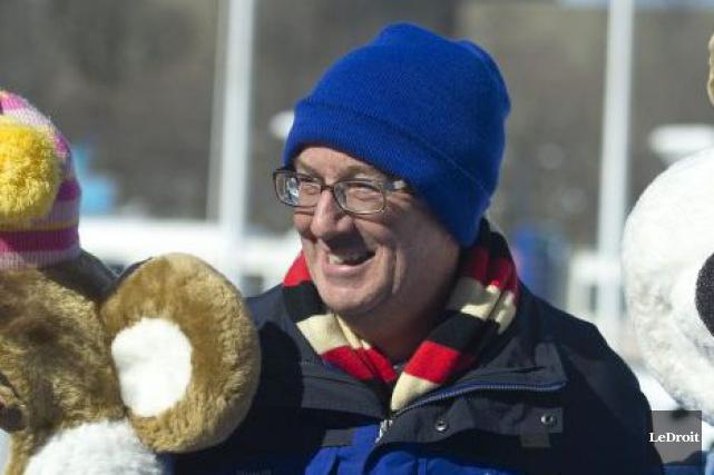 Le maire d'Ottawa, Jim Watson.... (Martin Roy, Archives LeDroit)