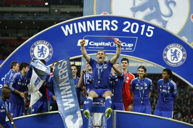 Les buts des «Blues» ont été marqués par... (Photo John Sibley, Reuters)