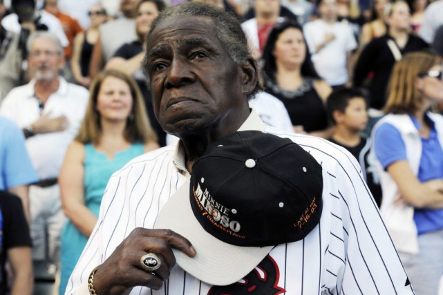 Minnie Minoso... (Photo DAVID BANKS, archives AP)