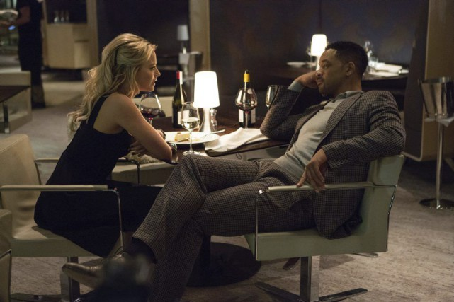 Margot Robbie et Will Smith dans Focus, un... (Photo fournie par Warner Bros.)