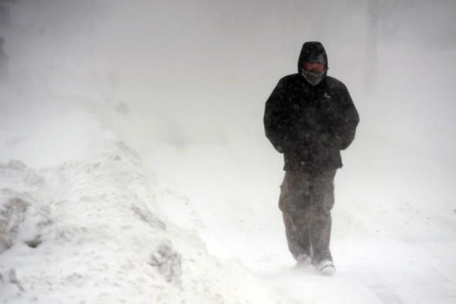 Avec une température moyenne de -11,7 degrés Celsius,... (Photo: AP)