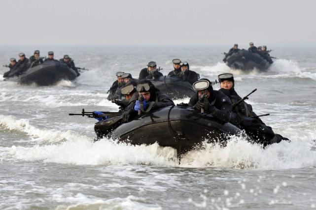 La Corée du Nord emploie régulièrement une rhétorique... (Photo: AP)