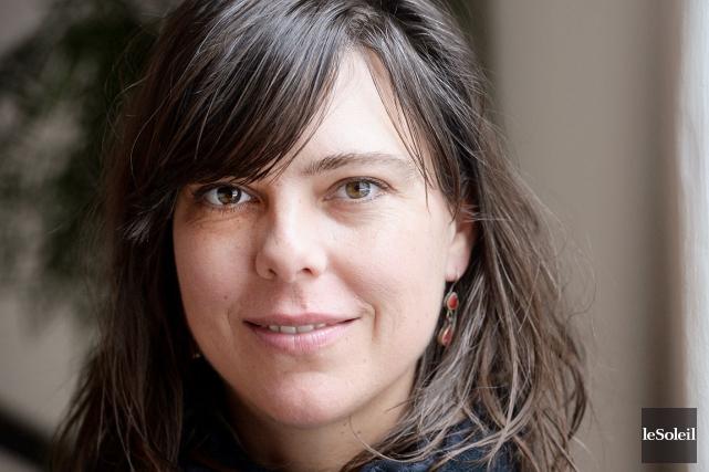 Sophie Deraspe n'a pas évité le sujet de... (Photo Le Soleil, Jean-Marie Villeneuve)