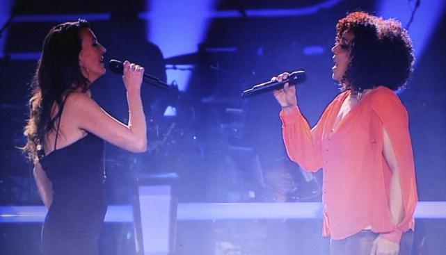 Les deux femmes ont offert une solide performance... (Photo Marie-Ève Lambert)