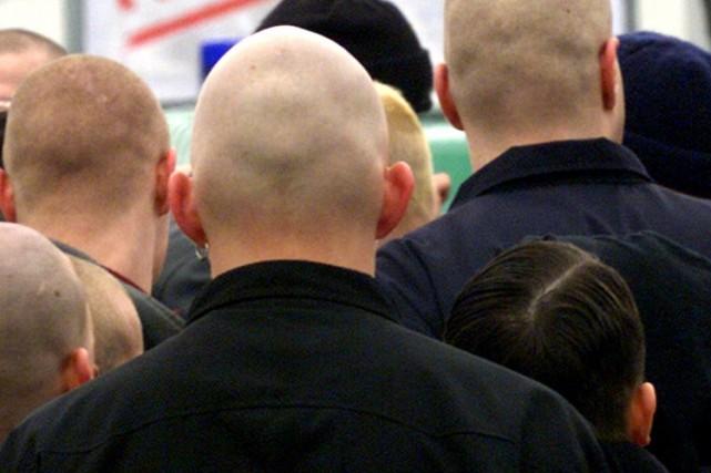 Les militants d'extrême droite montréalais avaient un horaire chargé, samedi,... (PHOTO ARCHIVES ASSOCIATED PRESS)