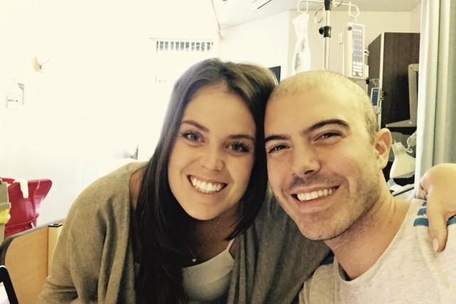 Matthew Schreindorfer et sa femme Katia Luciani sont... (PHOTO TIRÉE DE FACEBOOK)