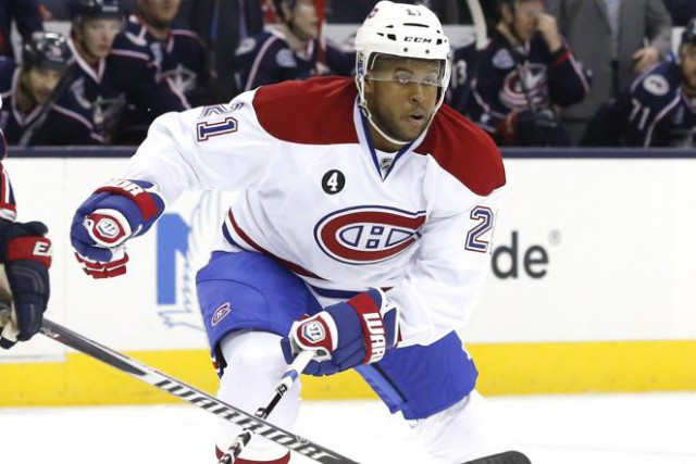 La plus récente acquisition du Canadien, Devante Smith-Pelly.... (Photo USA TODAY Sports)
