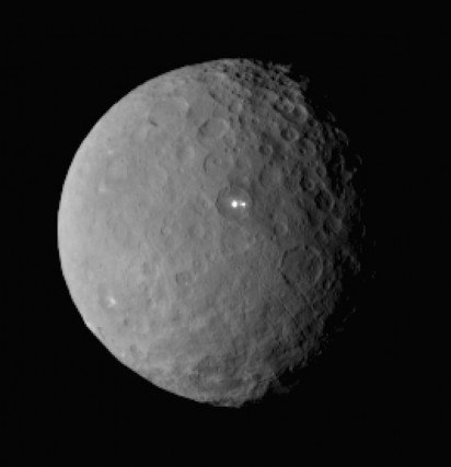 La planète Ceres... (PHOTO ASSOCIATED PRESS)