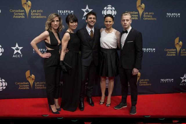 Nancy Grant, Anne Dorval, Xavier Dolan, Suzanne Clément... (Photo: La Presse Canadienne)