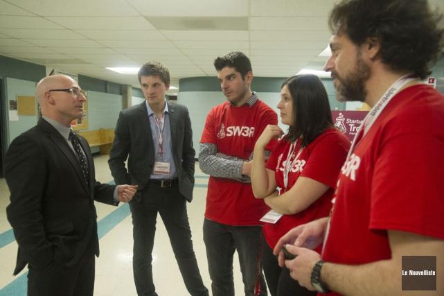 Le député de Trois-Rivières et ministre délégué aux... (Photo: Stéphane Lessard, Le Nouvelliste)