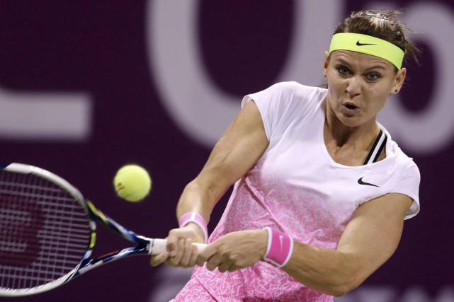 Lucie Safarova... (PHOTO OSAMA FAISAL, AP)