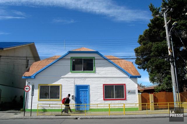 La petite villePunta Arenas s'est embellie au cours... (PHOTO MARIE TISON, LA PRESSE)