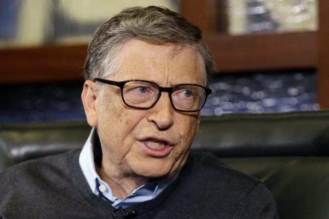 Bill Gates... (Photo Nati Harnik, archives AP)