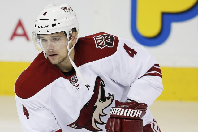 Zbynek Michalek... (PHOTO PERRY NELSON, USA TODAY)