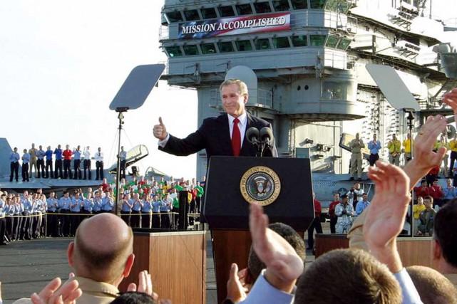 Le 1er mai 2003, deux mois après le...