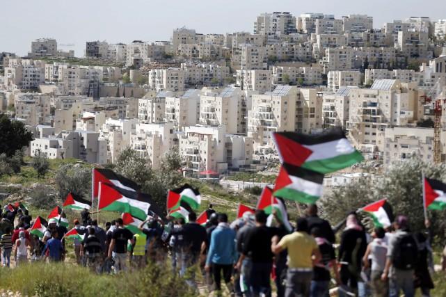 La plainte concerne la dernière guerre à Gaza... (PHOTO THOMAS COEX, ARCHIVES AFP)